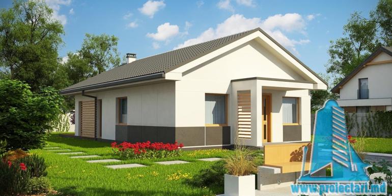 proiect de casa cu parter 120m2