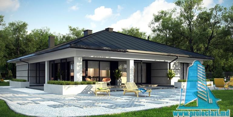 proiect terasa de vara cu gazon