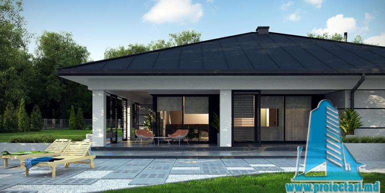 terasa de vara cu pavaj