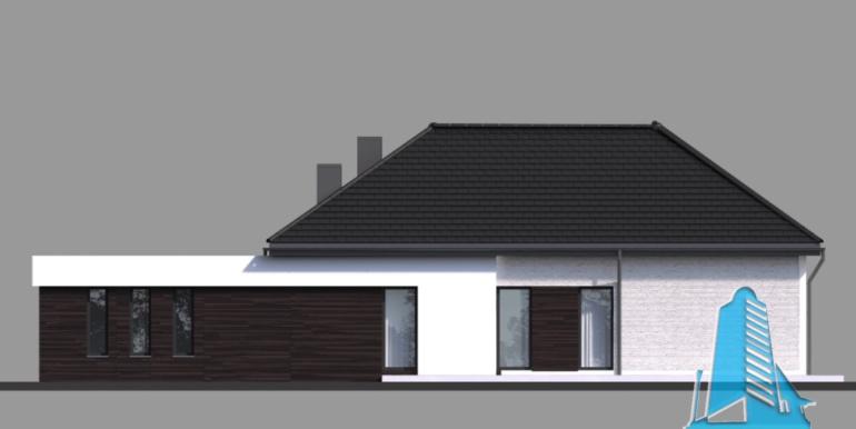 Casa cu parter si garaj pentru un automobil