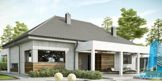 Casa cu parter-186 m2-101029