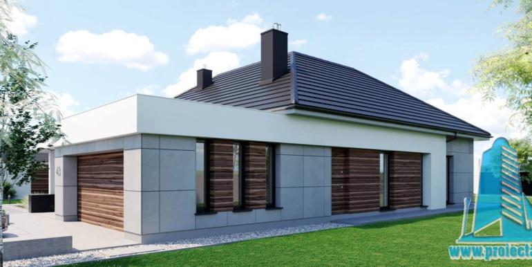 Casa cu parter si garaj pentru 2 automobile