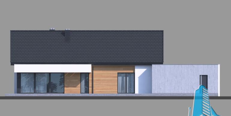 Casa cu parter si garaj pentru doua automobile