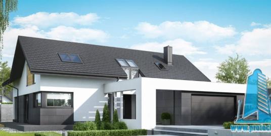 Casa cu parter, mansarda si garaj pentru doua automobile-315 m2-101030