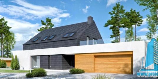 Casa Cu Parter Si Mansarda Si Garaj Pentru Doua Automobile–355 m2 – 101002