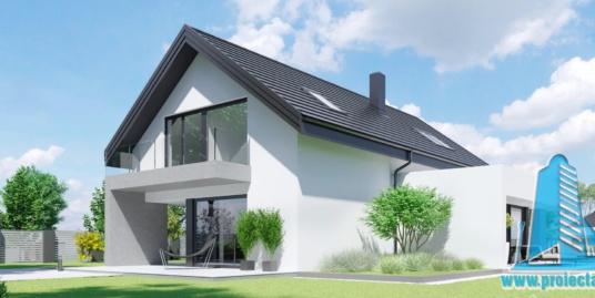 Casa Cu Parter,Mansarda Si Garaj Pentru Doua Automobile– 333 m2 – 100997