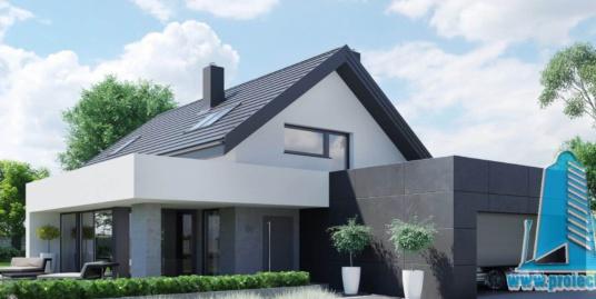Casa cu parter, mansarda si garaj pentru doua automobile-301 m2-101018