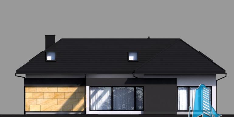 Casa cu parter, mansarda si garaj pentru 2 automobile