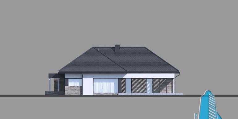 Casa duplex cu parter si garaj pentru doua automobile