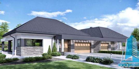 Casa duplex cu parter si garaj pentru doua automobile-219-101060