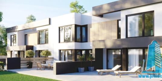 Casa multifamiliala cu parter, etaj si garaj pentru un automobil-94m2-101050