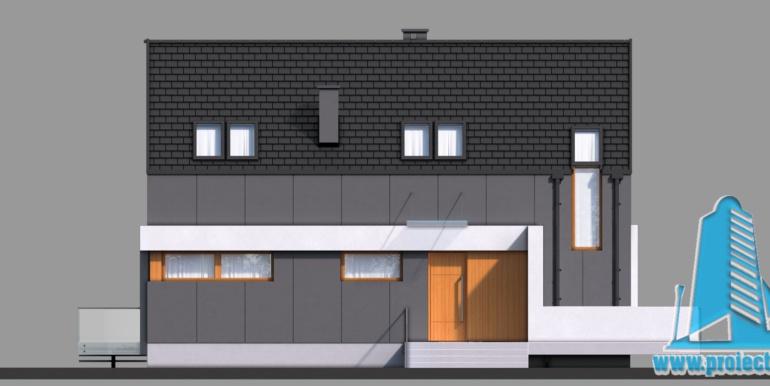 Casa cu parter si mansarda