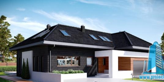 Casa cu parter, mansatrda si garaj pentru 2 automobile-336 m2-101057