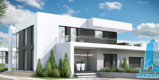 Casa cu parter, etaj si garaj pentru un automobil-350m2-101061