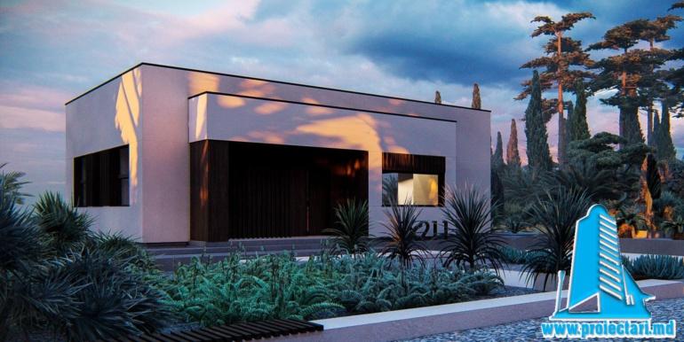 gradina Proiect de casa cu parter