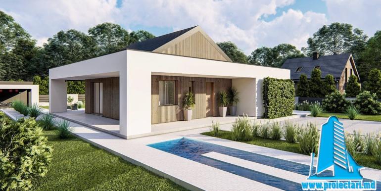 proiect de casa cu parter terasa