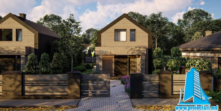 проект двухетажного дома