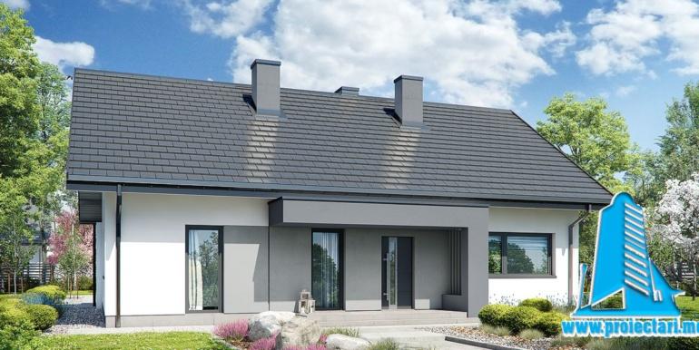 проект одноетажного дома