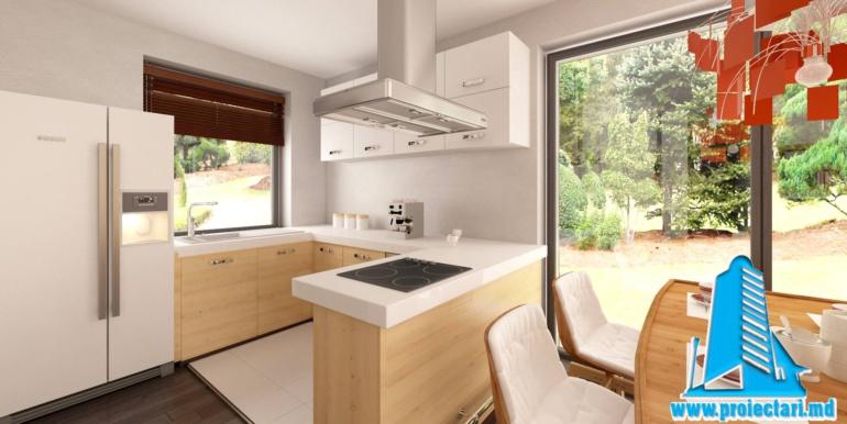 bucatarie proiect de casa cu parter