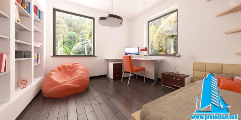 dormitor proiect de casa cu parter 1