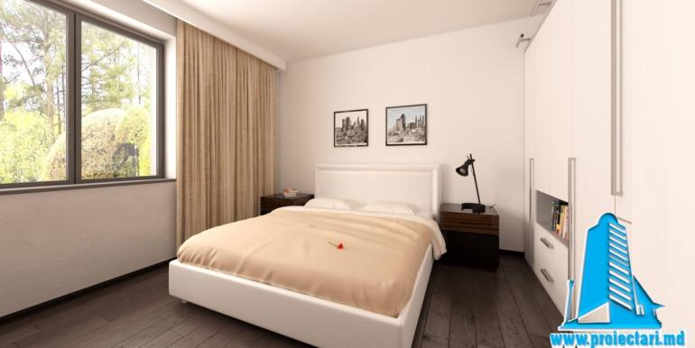 dormitor proiect de casa cu parter