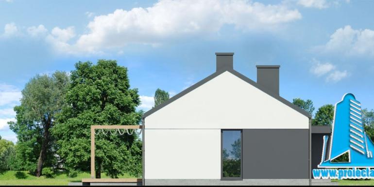 Fatada 3 проект одноэтажного дома