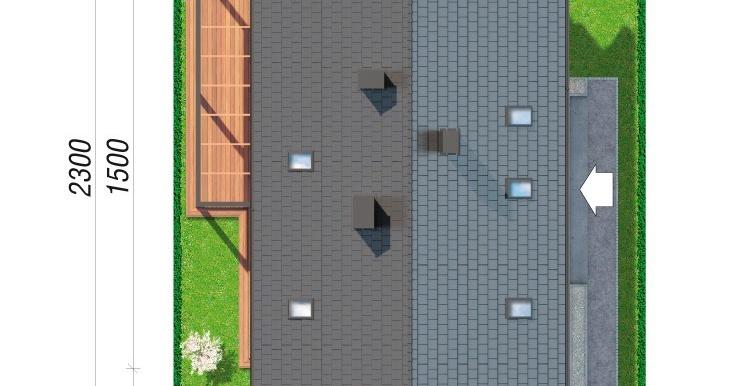 amplasare in teren проект дома с мансардой