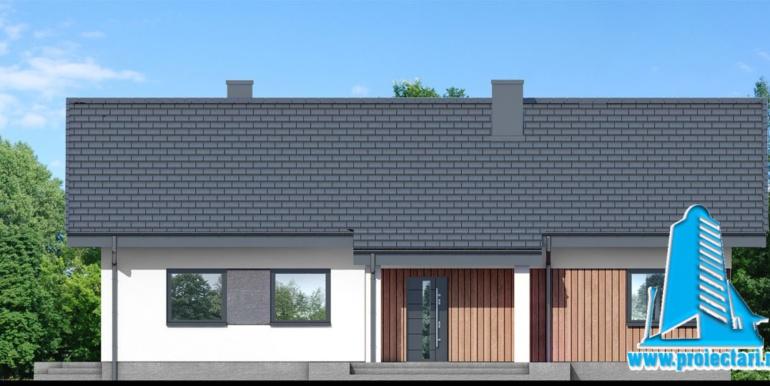 fatada 1 проект одноэтажного дома