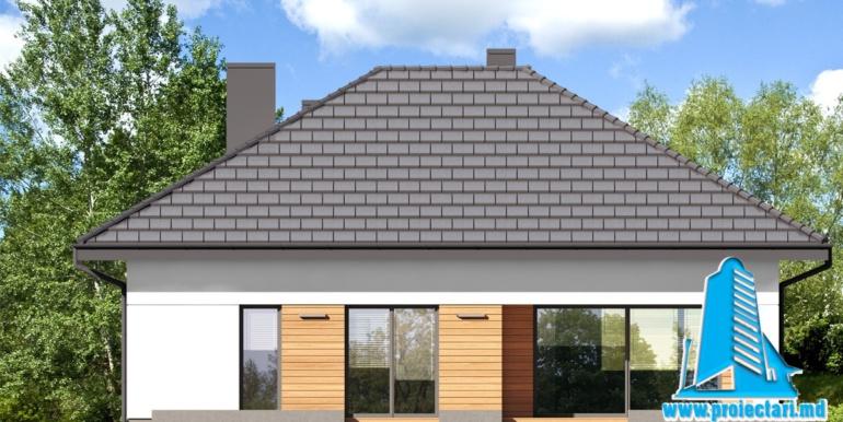 fatada 4 проект дома с мансардой