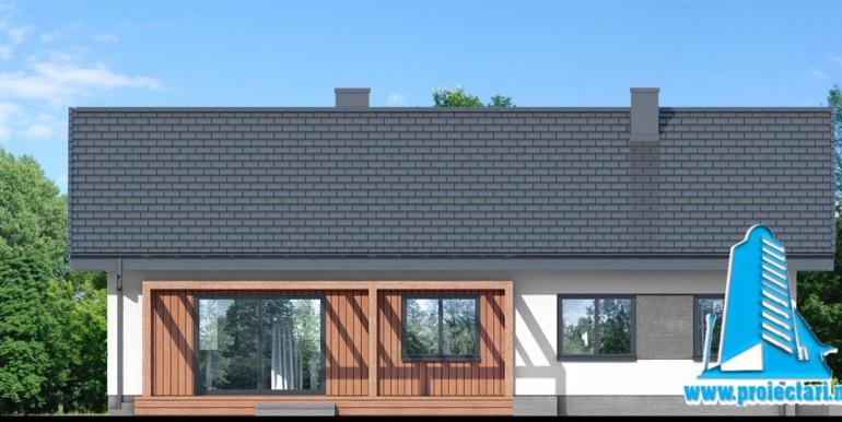 fatada 4 проект одноэтажного дома