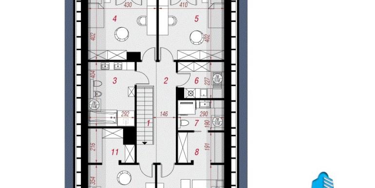 mansarda проект дома с мансардой