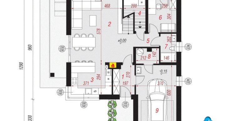 parter проект дома с цокольным этажом и мансардой