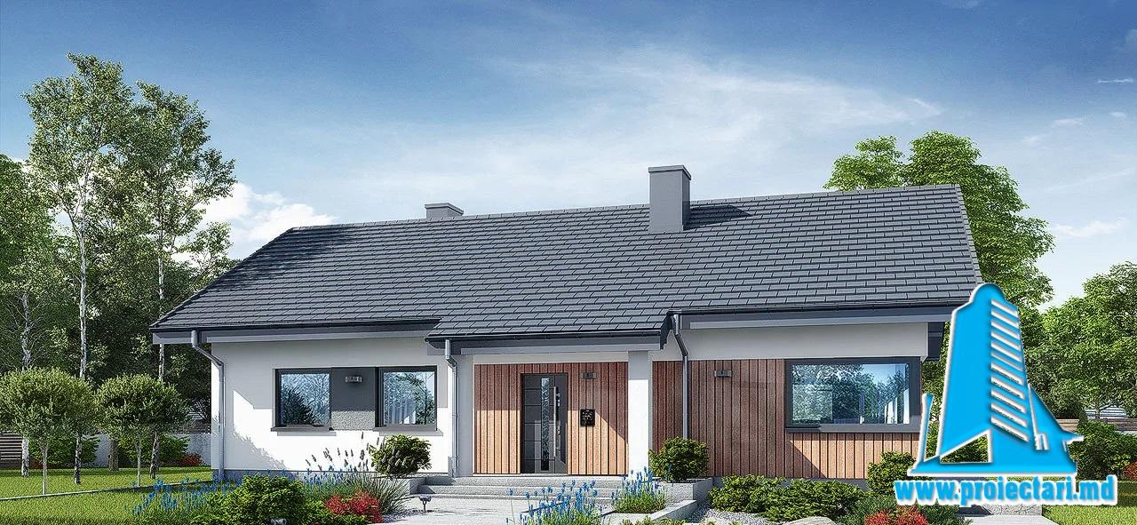 Proiect Casa cu un etaj 148.2m2 – 101116