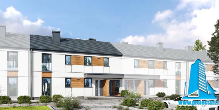 proiect de casa townhouse