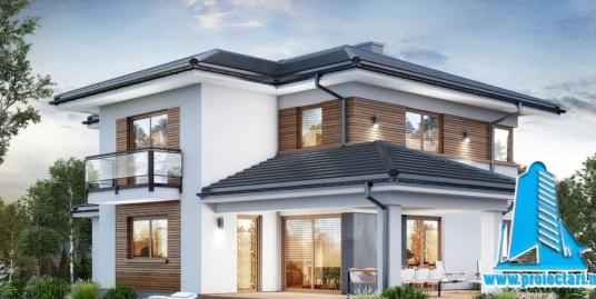 Proiect Casa cu etaj 207.2m2 – 101123
