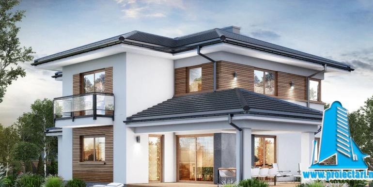 Проект двухэтажного дома — копия