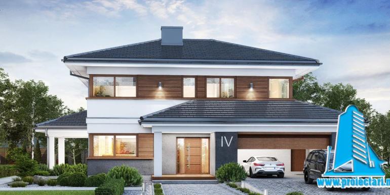 Proiect de casa cu doua etaje — копия
