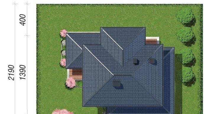 amplasare in teren Проект двухэтажного дома
