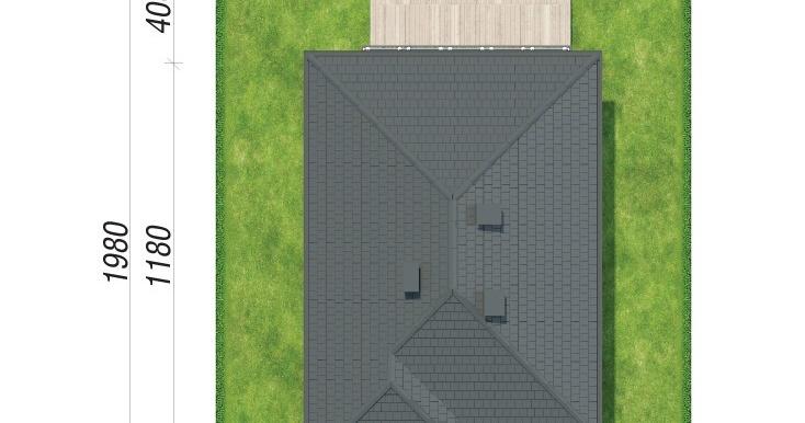 amplasarea in teren Проект двухэтажного дома