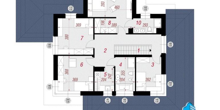 etaj Проект двухэтажного дома — копия
