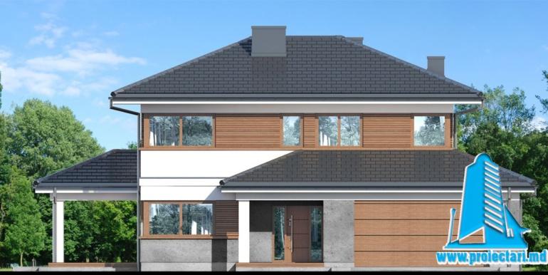 fatada 1 Проект двухэтажного дома — копия