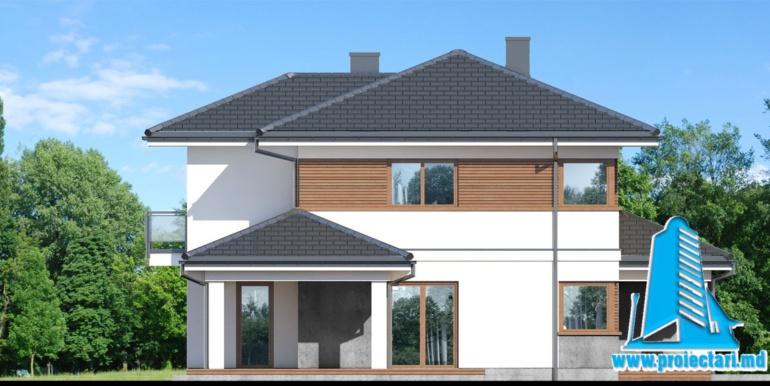 fatada 2 Проект двухэтажного дома — копия