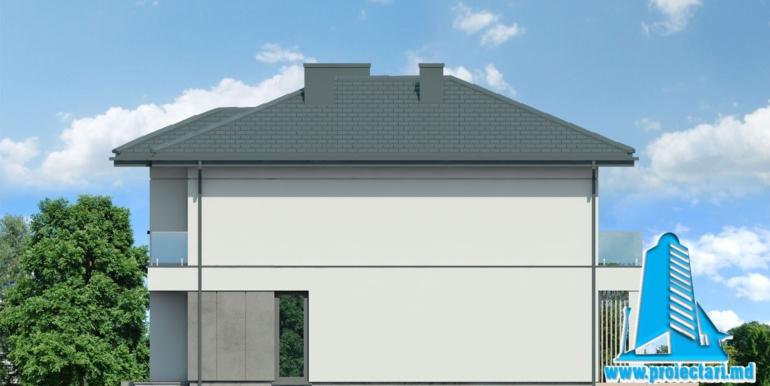 fatada 2 Проект двухэтажного дома