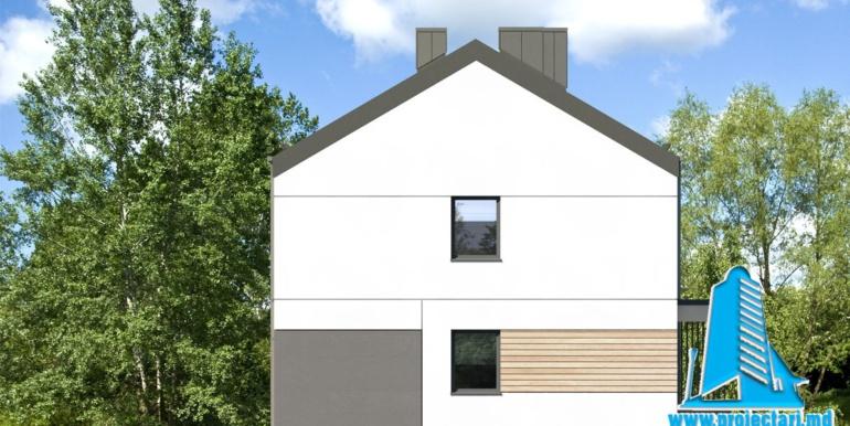 fatada 2 Проект двухэтажного дуплекса