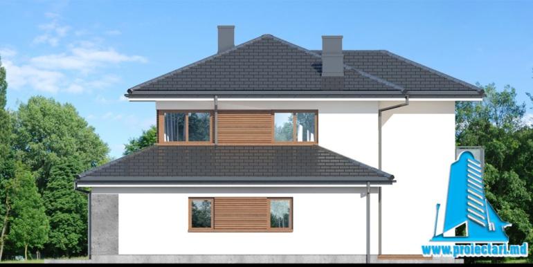 fatada 3 Проект двухэтажного дома — копия