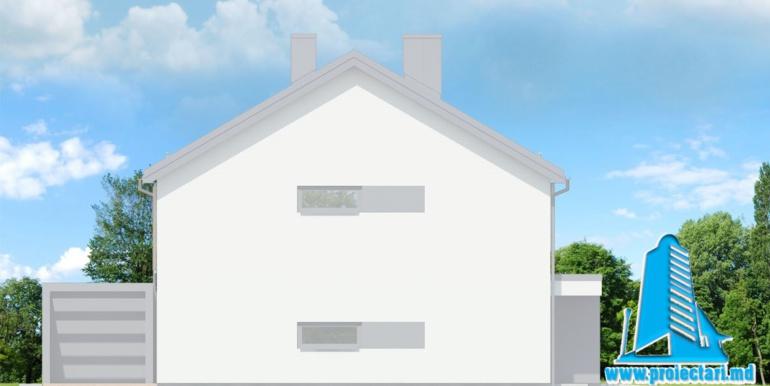 fatada 3 Проект дуплекс с двумя этажами