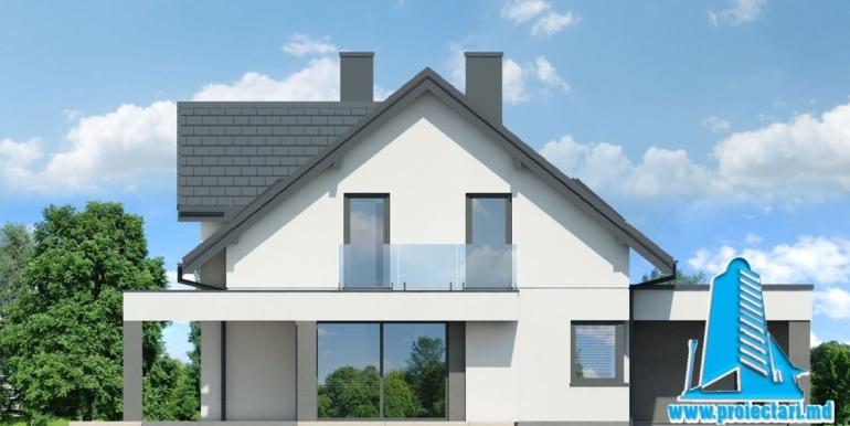 fatada 3 проект дома с мансардой