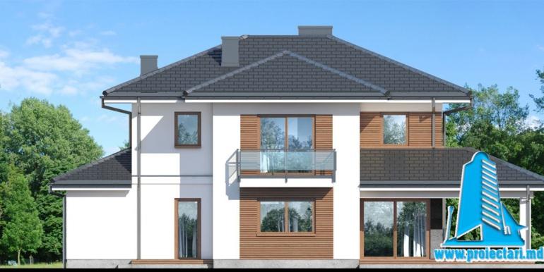fatada 4 Проект двухэтажного дома — копия