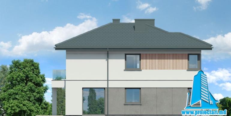 fatyada 3 Проект двухэтажного дома