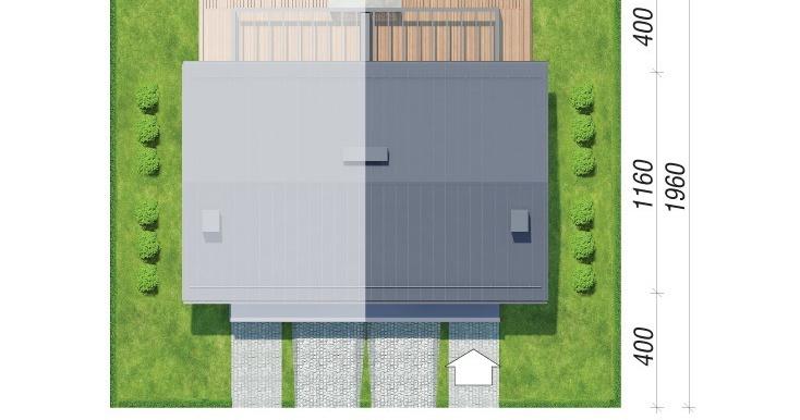 plan amplasare Проект дуплекс с двумя этажами